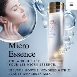 Free Estee Lauder Micro Essence Sample @ION Orchard boutique