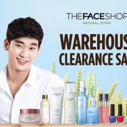 The Faceshop Singapore | exclusive 3 days Warehouse Clearance Sale