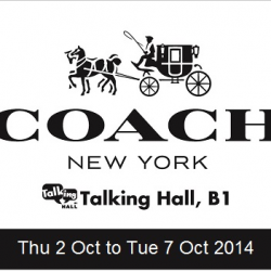 Coach |  storewide Promotion at Takashimaya