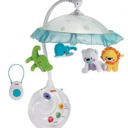 Amazon | Fisher-Price Precious Planet 2-in-1 Projection Mobile