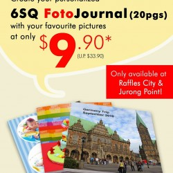 FotoHub | Personalized 6SQ FotoJournal Promotion