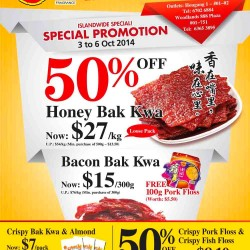 Fragrance Foodstuff | Islandwide Special Promotion Oct 2014