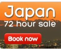 Hotels.com |  Japan up to 50% off 72 Hour Sale