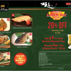 ITACHO SUSHI @ JCube Outlet│Save 20% off