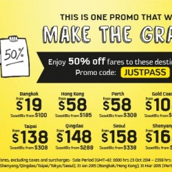 Scoot | Last day 50% OFF Fares