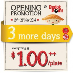 Sushi Express | Opening promotion $1.00++ Per plate