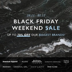 Zalora | up to 80% off + extra 15% off Black Friday sale