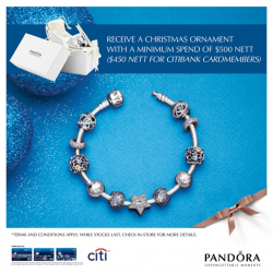Pandora | Christmas Ornament with min. spend of $500
