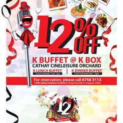K Box Karaoke | 12% off K-Buffet at K Box