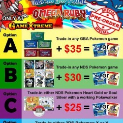 GameXtreme.sg | Pokemon trade-in deal