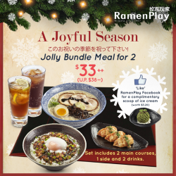 RamenPlay | Jolly Bundle Meal for 2 at only $33