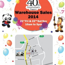 Meiji | Warehouse sale 2014