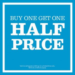 New Look | Buy 1 and get 1 @ half price