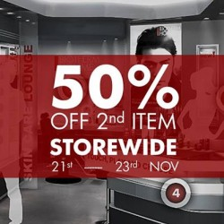 Biotherm | Storewide 50% off 2nd item at Biotherm Homme Boutique