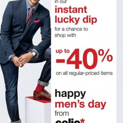 Celio* | up to 40% off any regular priced items
