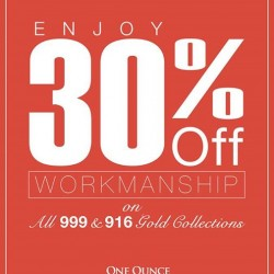 One Ounce | 30% OFF workmanship for all 999 & 916 gold collections