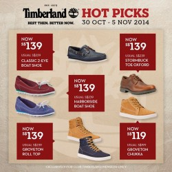 Timberland| Club Timberland exclusive 3-days sale