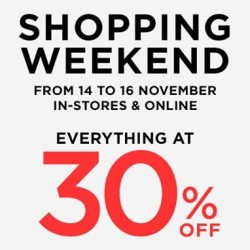 Mango | Everything At 30% Off shopping weekend promotion