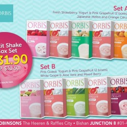 ORBIS | Petit Shake flavors @ $31.90 for a 5 box set