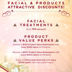 Adonis Beauty | Facial Discounts and Perks for Christmas
