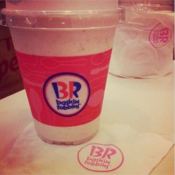 Baskin-Robbins | 10% off strawberry milkshakes