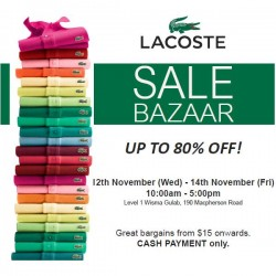 Royal Sporting House | LACOSTE Year End Sale up to 70% off