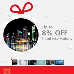 DBS | 8% off hotel in New Zealand, Rome and Singapore on Agoda