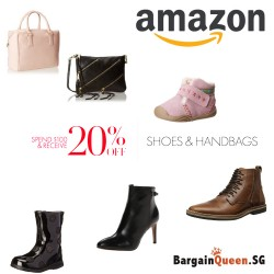 Amazon | 20% off with min. $100 spent on Shoes & handbags