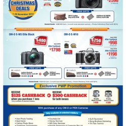 Olympus | Early Christmas Deals in November