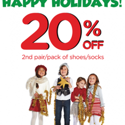 Stride Rite | 20% off any 2nd pair/pack of shoes/socks