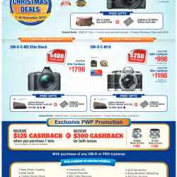 Olympus | Early Christmas Deals