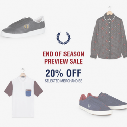 Fred Perry | End of season 20% off sale