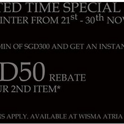 Porter International | $50 rebate on second item purchase