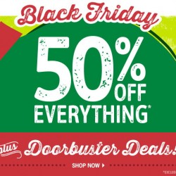 OshKosh B'gosh | Black Friday 50% off everything sales
