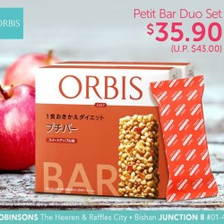 ORBIS | apple flavoured Petit Bar Duo Set at $35.90