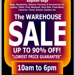 Bagman | Warehouse Sale with lowest price guarantee