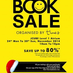 Times Bookstore | Book sale up to 80% off at Jcube