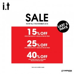 i.t Labels | end season sale up to 40% off