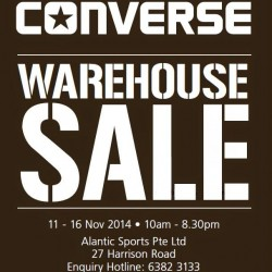 Converse | Warehouse Sale 2014