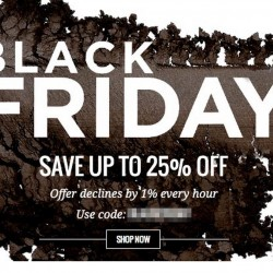 LookFantastic| Black Friday 25% declining discount off selected items