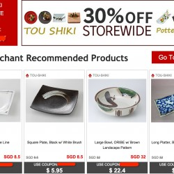 Rakuten.com.sg | TOU SHIKI EXCLUSIVE 30% OFF COUPON