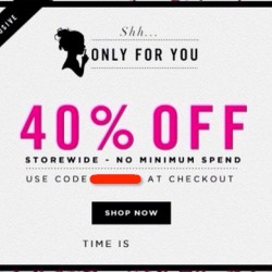Luxola | 40% OFF Storewide Coupon