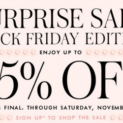 Kate Spade surprise sale up to 75% off (Black Friday Edition)
