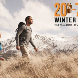 The Planet Traveller | 20% off winter wear promotion