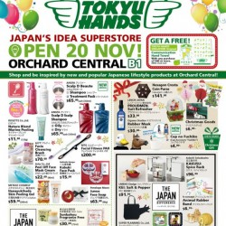 Tokyu Hands | Opening special at Orchard Central