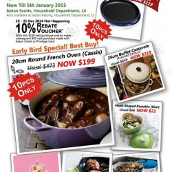 Le Creuset | Festive Specials at Isetan