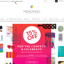 Mono Yono | 15% Online Surprise Sales
