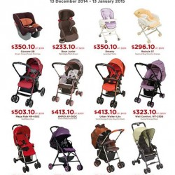 Spring Maternity & Baby | 10% off combi strollers