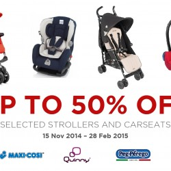 Spring Maternity & Baby | 50% off selected strollers and car seats