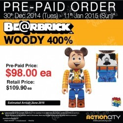 Action City | BE@RBRICK Pre-Paid Order special price
